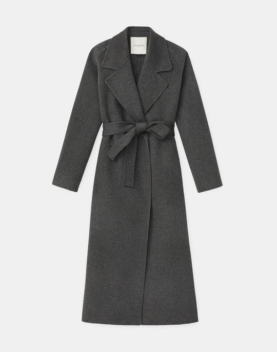 Reyes Coat In Luxe Cashmere