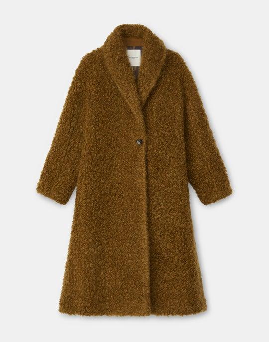 Greenwich Coat In Italian Mohair KindWool