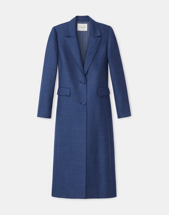 Emile Coat In Euphoric Mélange Cloth