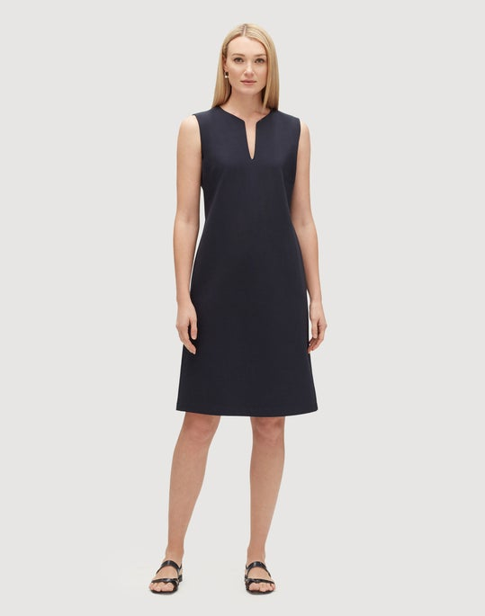 Petite Punto Milano Taren Dress