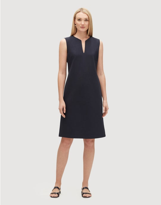Plus-Size Punto Milano Taren Dress