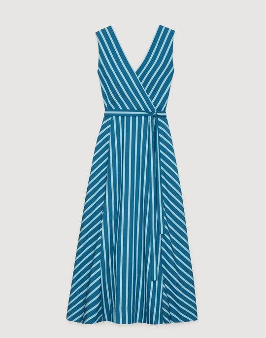 Mediterranean Stripe Siri Dress