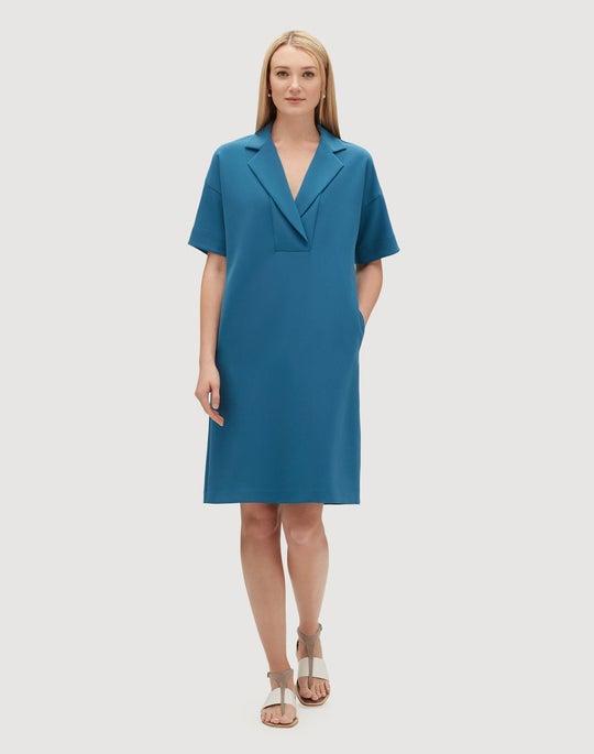 Plus-Size Finesse Crepe Jane Dress