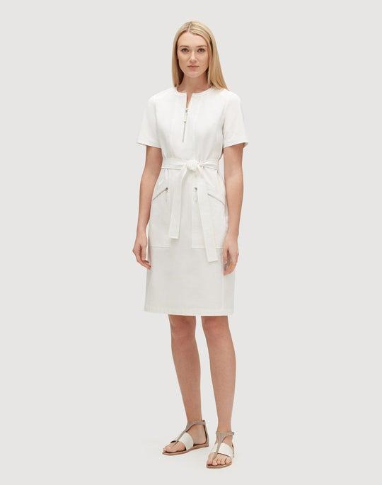 Petite Fundamental Bi-Stretch Elizabella Dress