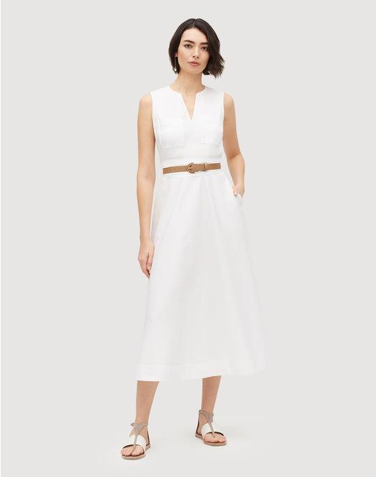 Classic Stretch Cotton Janelle Dress