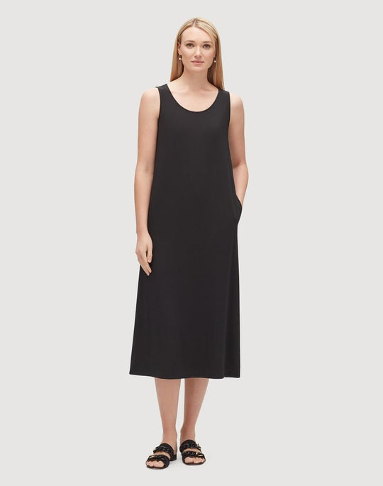 Mid-Weight Matte Jersey Amberly Dress