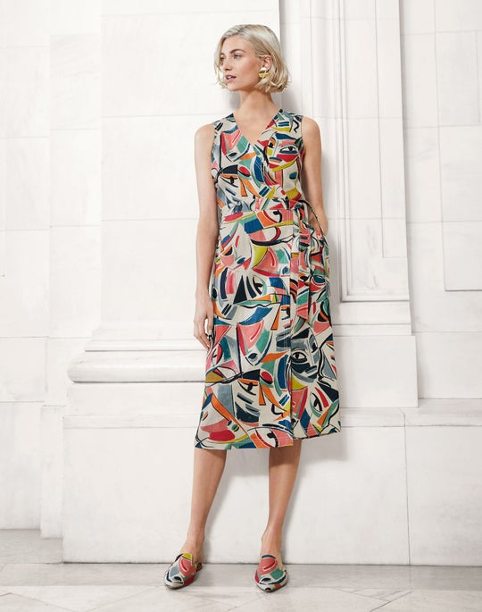 Pammie Dress and Vento Slide