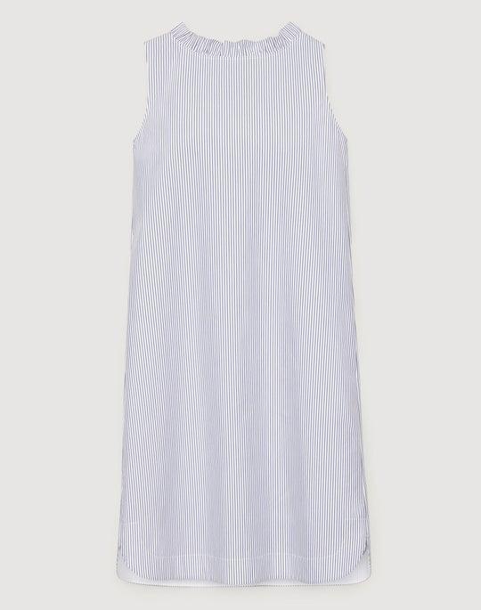 Languid Stripe Cotton Yvette Convertible Dress