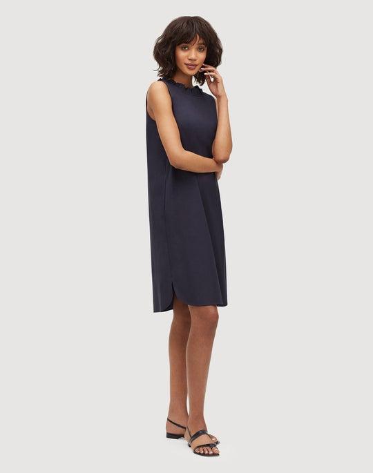 Petite Classic Stretch Cotton Yvette Convertible Dress