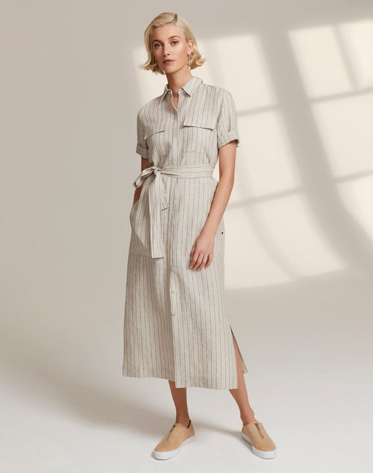 Doha Shirtdress and Bade Sneaker