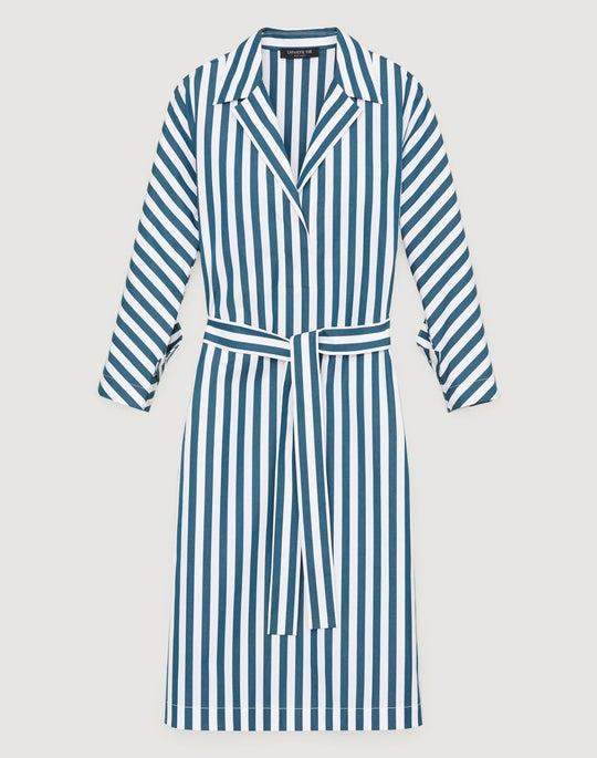 Strada Stripe Cotton Laticia Dress