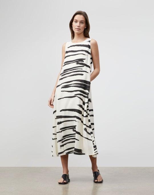 Plus-Size Painted Zebra Stripe Print Drape Cloth Ross Dress