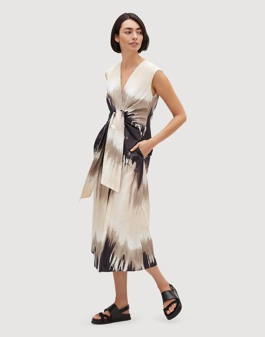 Petite Sandstone Ombré Orielle Dress