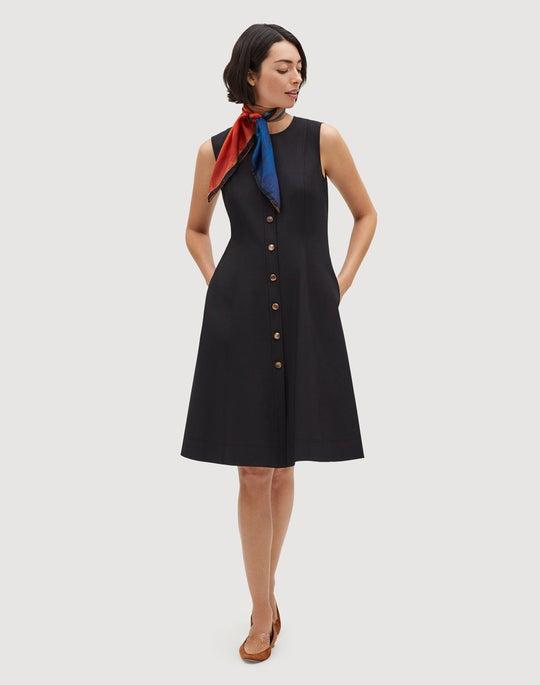 Petite Fundamental Bi-Stretch Fahey Dress