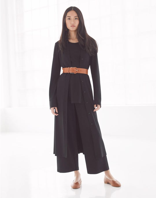 Rea Shirtdress and Cropped Riverside Pant