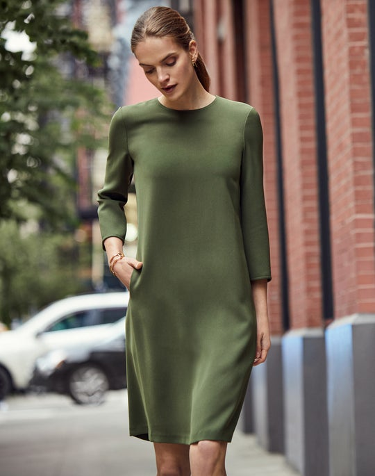 Quintana Dress and Lucia Loafer