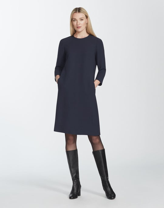 Finesse Crepe Quintana Dress