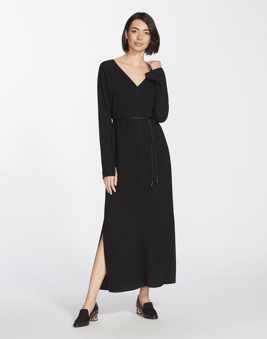 Finesse Crepe Long Thurmen Dress