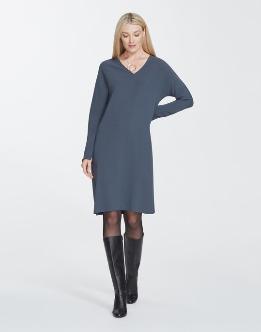 Plus-Size Finesse Crepe Thurmen Dress