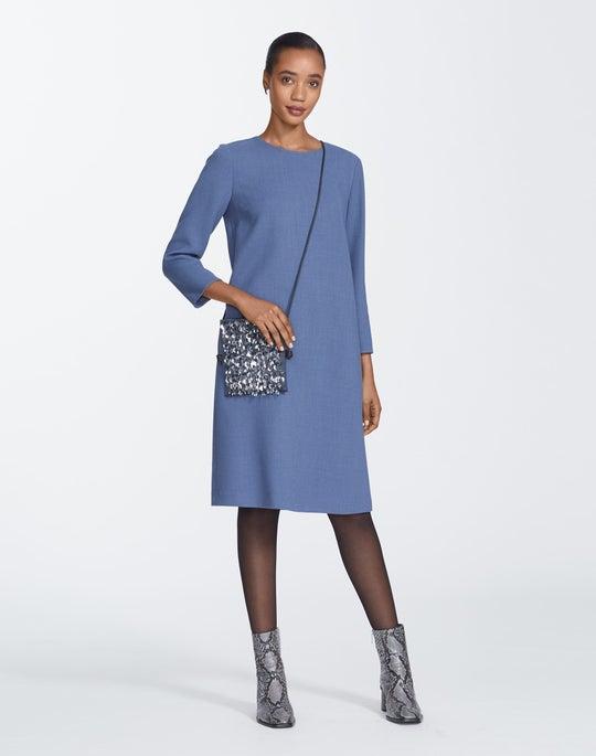 Plus-Size Nouveau Crepe Giovanetta Dress