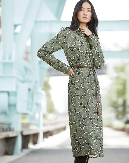 Mandalyn Shirtdress and Claremont Boot