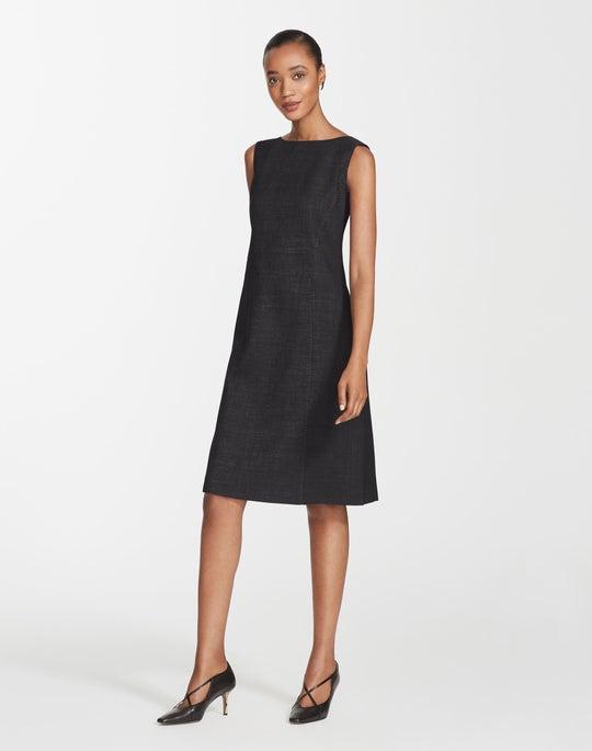 Petite Dual Weave Suiting Brett Dress