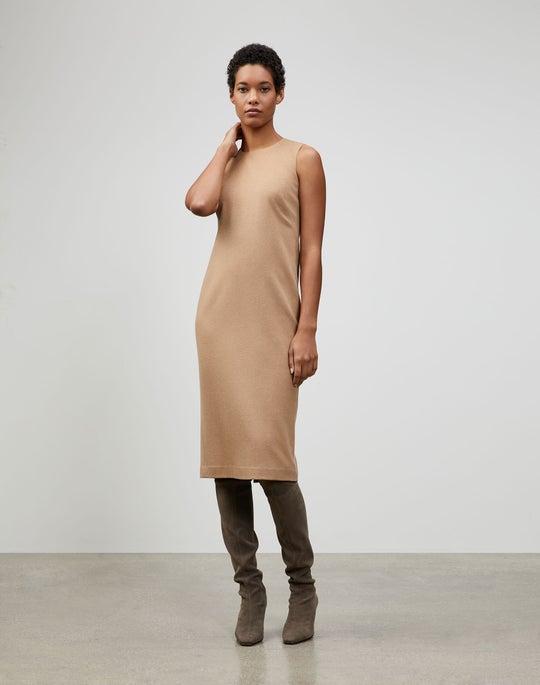 Camel Hair Frances Dress