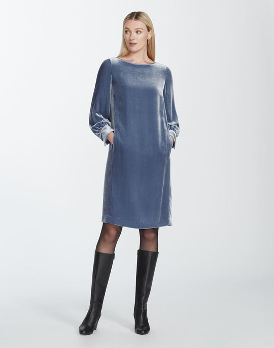 Classic Velvet Lura Dress