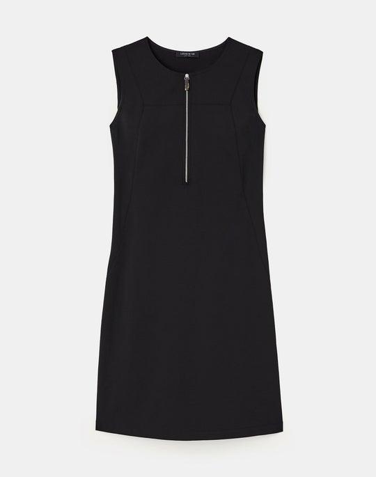 Plus-Size Fundamental Bi-Stretch Audren Dress