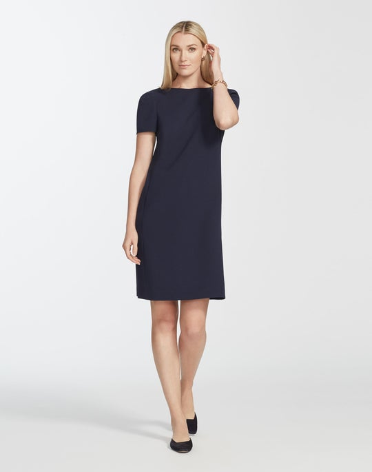 Petite Finesse Crepe Cohen Dress