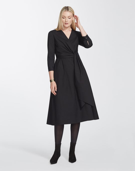 Plus-Size Classic Stretch Cotton Olivia Dress
