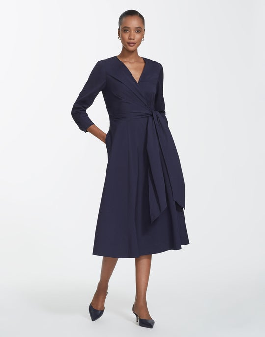 Petite Classic Stretch Cotton Olivia Dress
