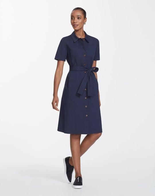 Plus-Size Fundamental Bi-Stretch Kylie Dress