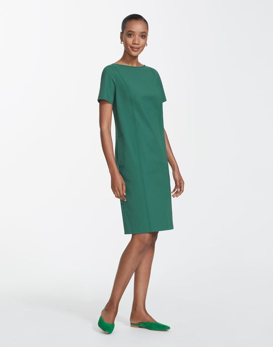 Petite Fundamental Bi-Stretch Easton Dress