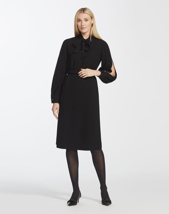 Finesse Crepe Genevive Dress