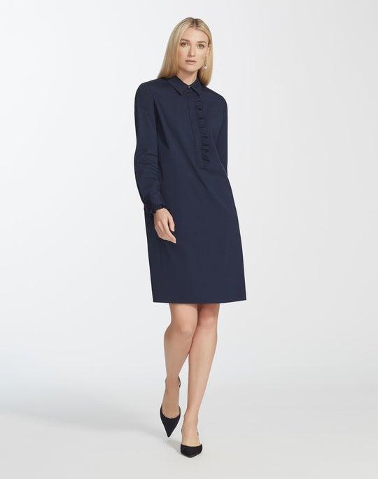 Classic Stretch Cotton Fiona Dress