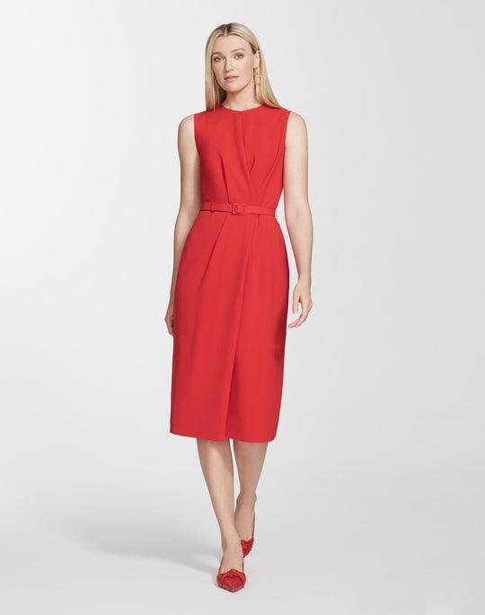 Petite Finesse Crepe Jude Dress