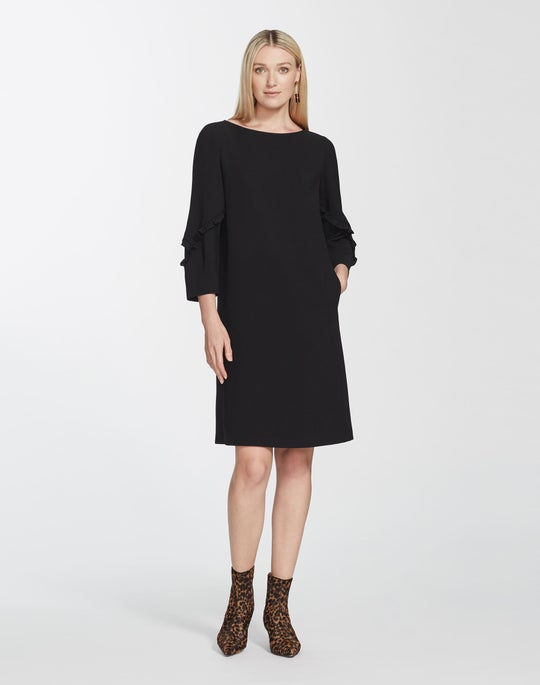 Finesse Crepe Abigail Dress