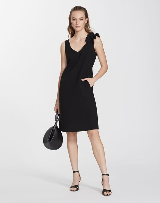 Finesse Crepe Laurie Dress
