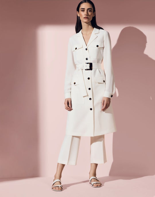 Elliot Shirt Dress and Cropped Downing Pant