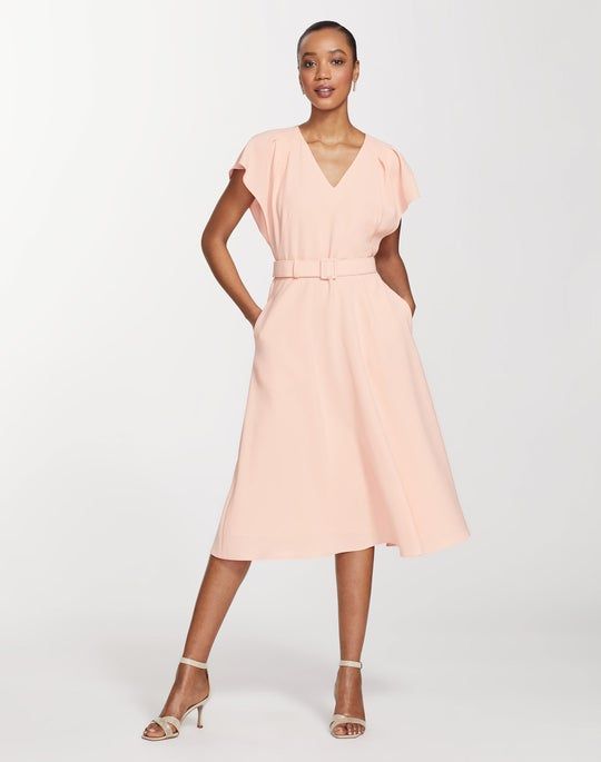 Finesse Crepe Kline Dress