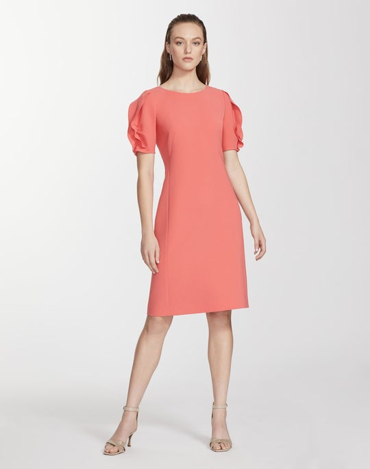 Petite Finesse Crepe Winslow Dress