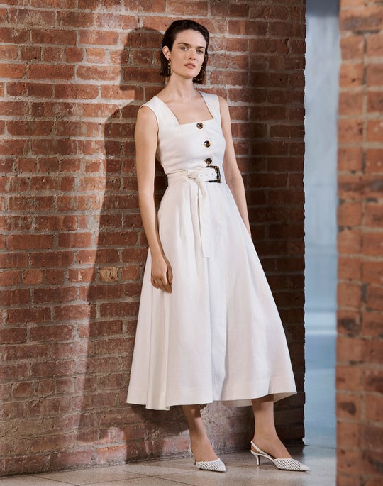 The Square-Neck Dress