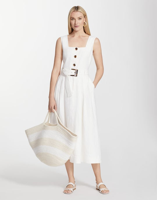 Lavish Linen Chris Dress