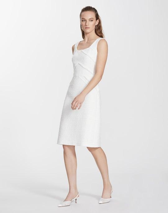 Petite Harlow Tweed Jennette Dress