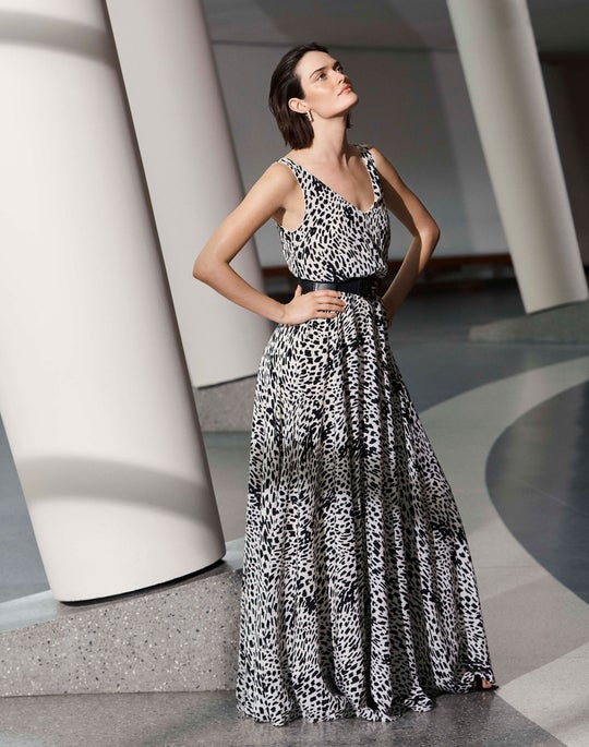 The Cheetah Print Maxi Dress