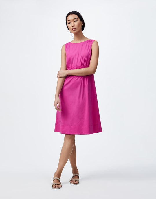Petite Classic Stretch Cotton Tryston Dress