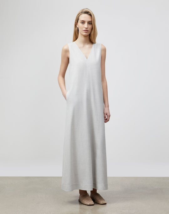 Neve Dress In Italian Tropical Weave