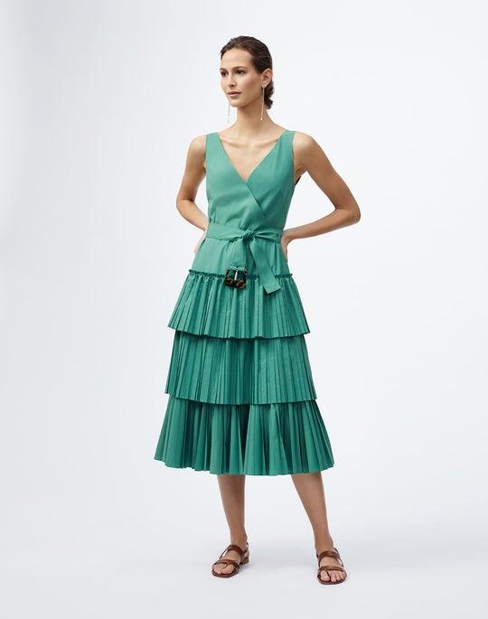 Dynamic Pleating Elodie Dress