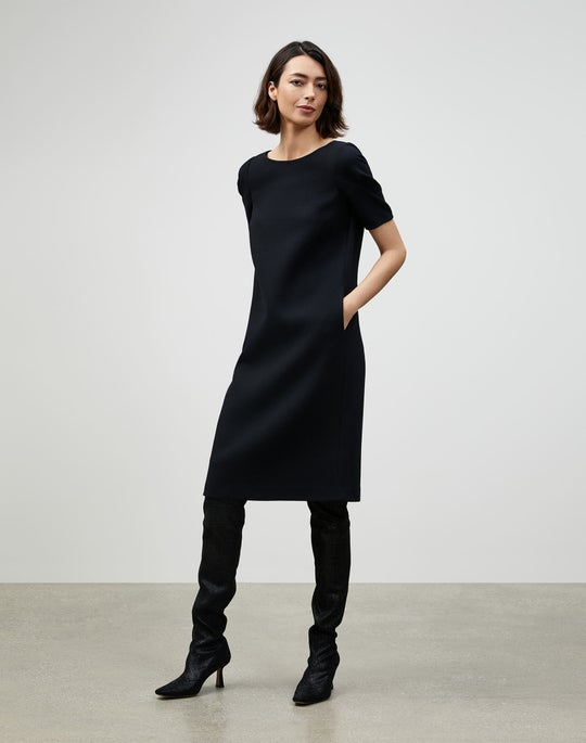 Nouveau Crepe Milena Shift Dress